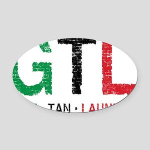 GTL_GBR Oval Car Magnet