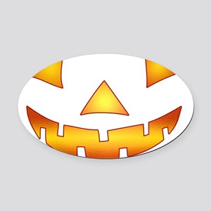 pumpkin_2 Oval Car Magnet