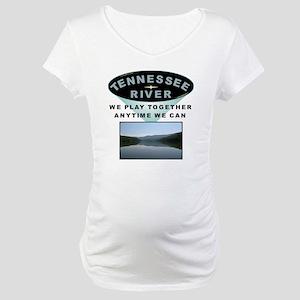 TN River Design Maternity T-Shirt