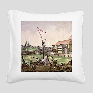 salemmarsq Square Canvas Pillow