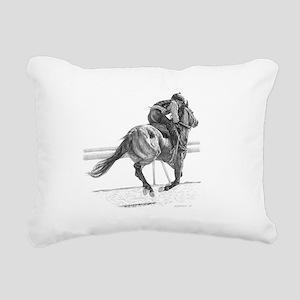 SheckOvalTrans Rectangular Canvas Pillow