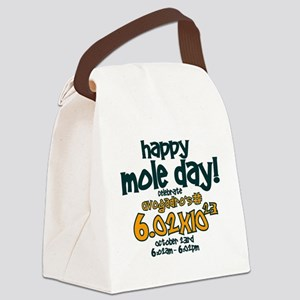happy mole day Canvas Lunch Bag