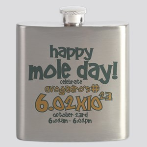 happy mole day Flask