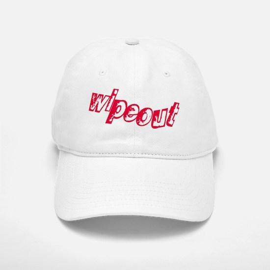 wipeout Baseball Baseball Cap