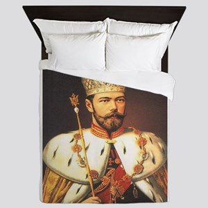 Tsar Nicholas Coronation Queen Duvet
