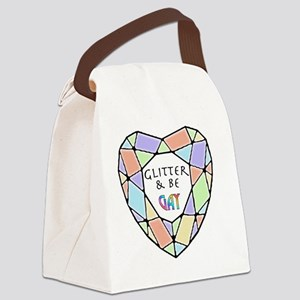 Glitter and Be2 Canvas Lunch Bag