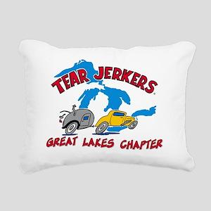 Great Lake TJ LARGE Logo Rectangular Canvas Pillow