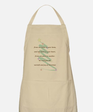 Christmas Card Apron