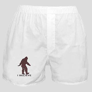 Bigfoot plaid Boxer Shorts