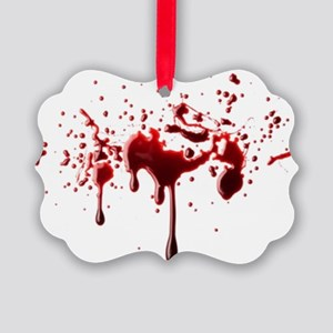 BLOODY Picture Ornament