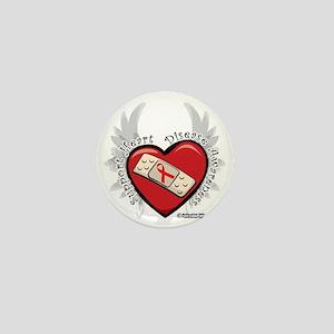 Heart-Disease-New-Wings Mini Button