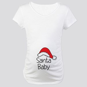 Santa Baby Maternity T-Shirt