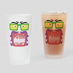 BigFace4 copy copy Drinking Glass