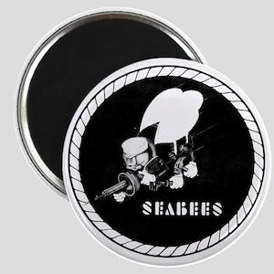 Seabees Vintage emblam Magnet