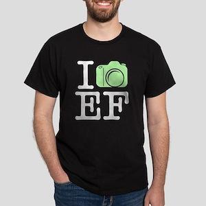 I_Shoot_EF_Green Dark T-Shirt