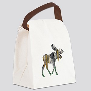AMONGST FOREST Canvas Lunch Bag