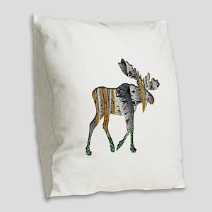 AMONGST FOREST Burlap Throw Pillow