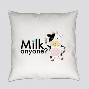 Milk Anyone? Everyday Pillow