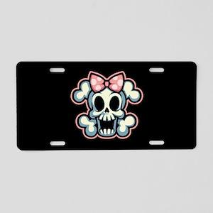 Jolly Dotter Aluminum License Plate