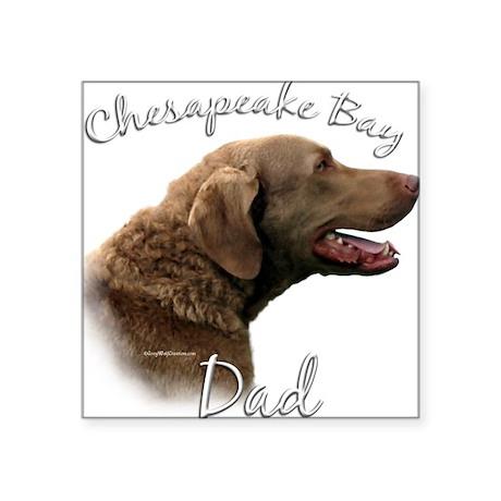 Chessie Dad2 Rectangle Sticker
