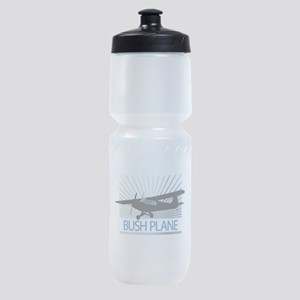 Aircraft Bush Plane Sports Bottle