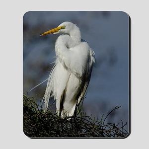 Great Egret Mousepad