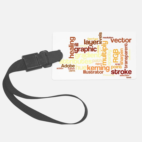 DTPWords Luggage Tag