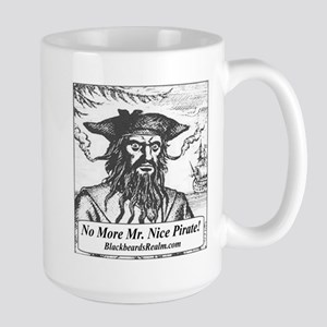 Blackbeard's Stuff Large Mug