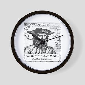 Blackbeard's Stuff Wall Clock