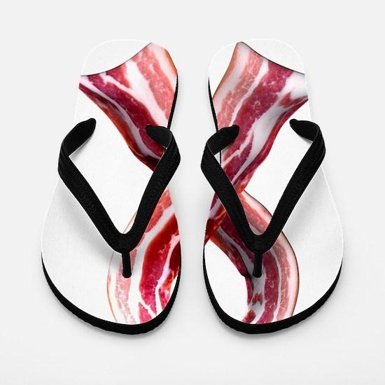 BaconRibbon Flip Flops