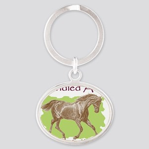 Picture2 Oval Keychain