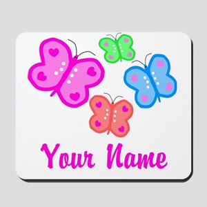 Butterflies Personalized Mousepad