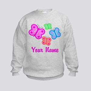 Butterflies Personalized Sweatshirt