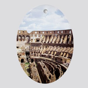 coliseum 14x10_print(V) Oval Ornament
