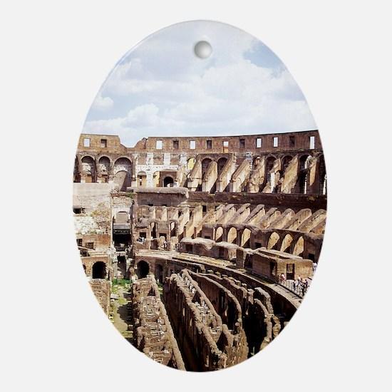 coliseum 14x10_print(V) Oval Ornament