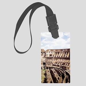 coliseum 14x10_print(V) Large Luggage Tag