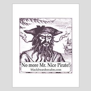 Blackbeard's Stuff Small Poster