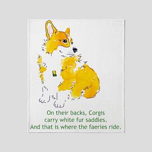Faerie Saddles Throw Blanket