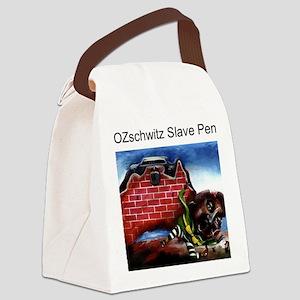 ozslavepen Canvas Lunch Bag