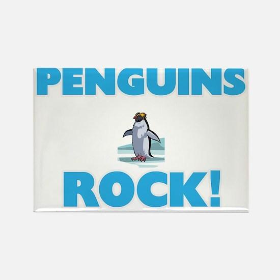 Penguins rock! Magnets