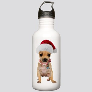 Chihuahua Santa Stainless Water Bottle 1.0L