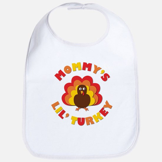 Mommys Lil Turkey Bib