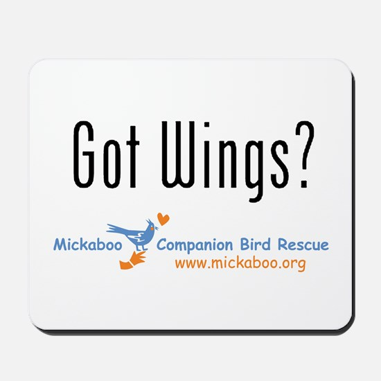 Got Wings? Mousepad