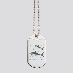 Personalized Shark Dog Tags
