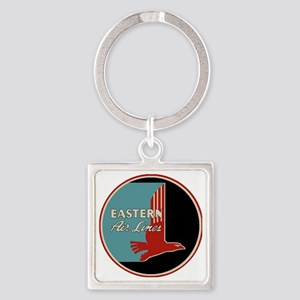 Eastern Airlines Square Keychain