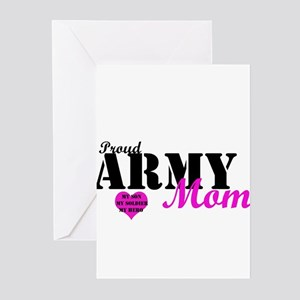 Army Moms Greeting Cards (Pk of 10)