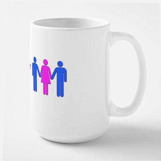 iloveyourwife_bumper Large Mug
