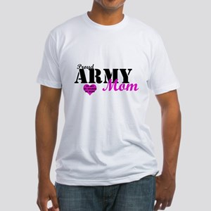 Army Moms Fitted T-Shirt