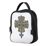 SilverGoldCross Neoprene Lunch Bag