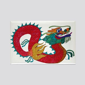 dragon1c Rectangle Magnet